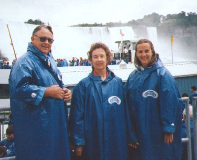 Ira, Joanne and Vicki Bicknell